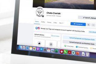 Sociálne siete_facebook stránka_reklama chata zveriak